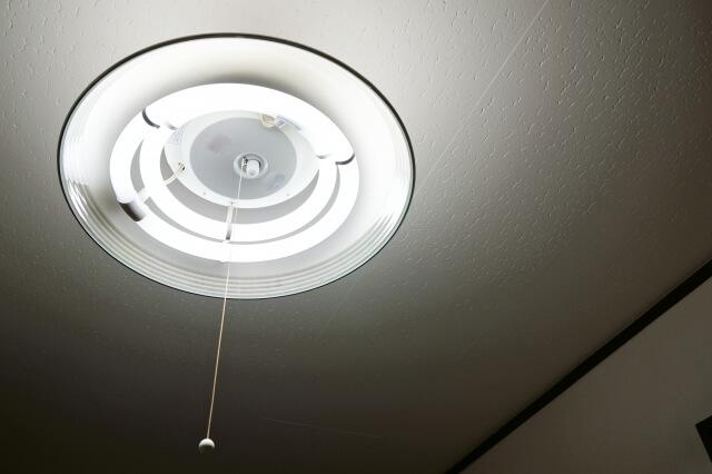 天井と電灯