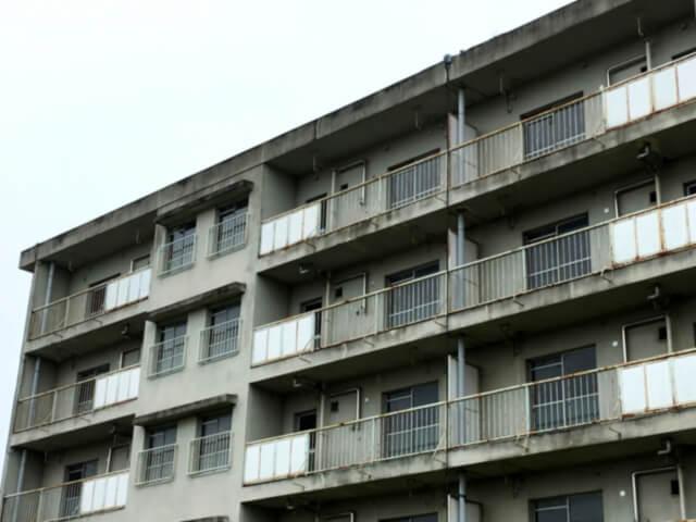 空き部屋が多いアパート