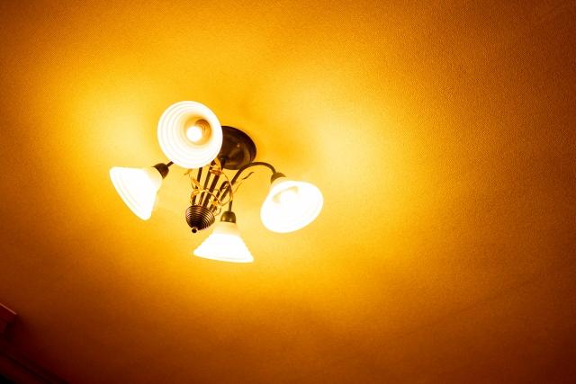 天井の照明器具