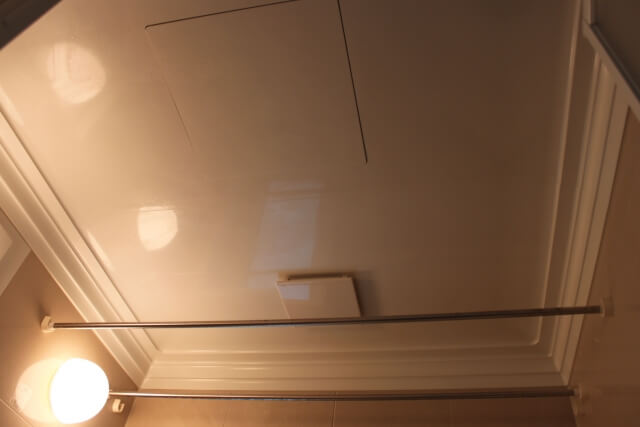 風呂場の天井