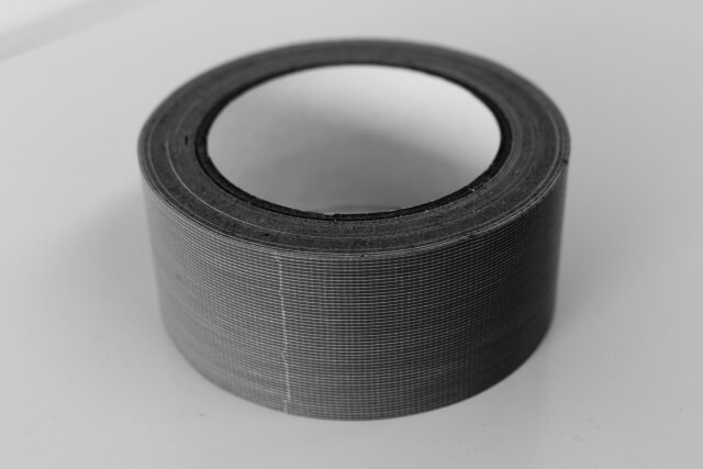 ガムテープ(モノクロ)