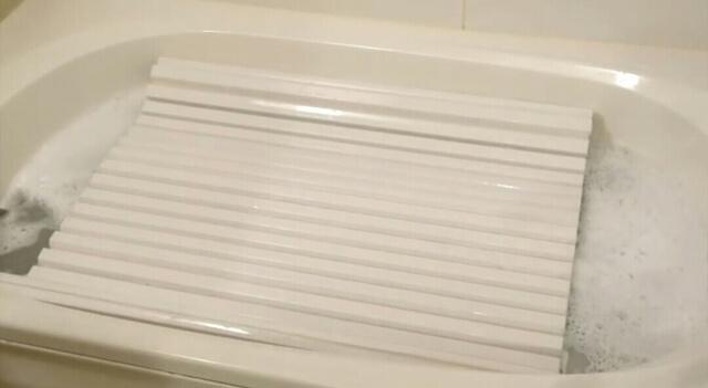 風呂の蓋を浸け置き