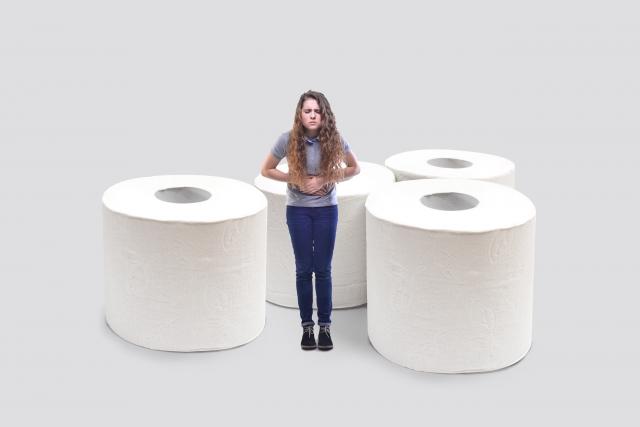 トイレットペーパー消費量の個人差
