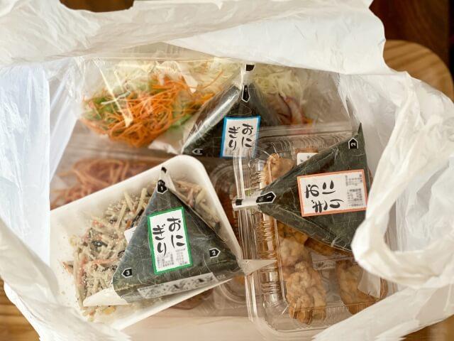 食べ物の容器類