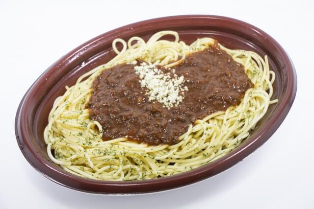 ミートソーススパゲティ