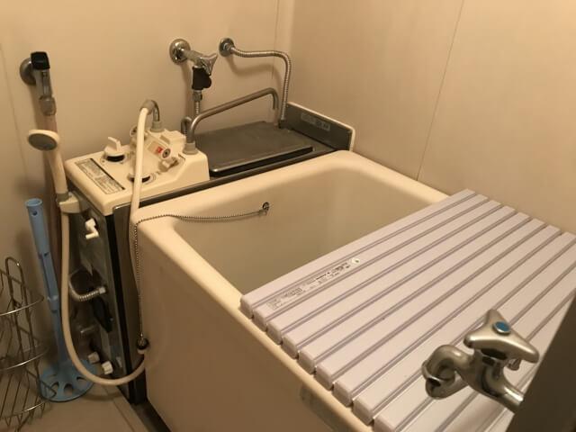 旧式の風呂釜