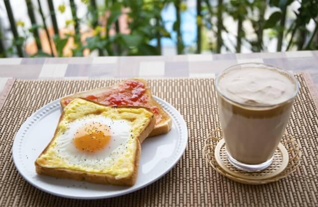 栄養バランスの良い朝食