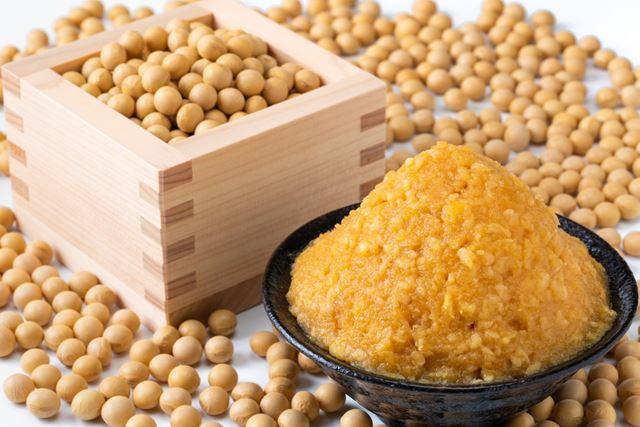 味噌と大豆